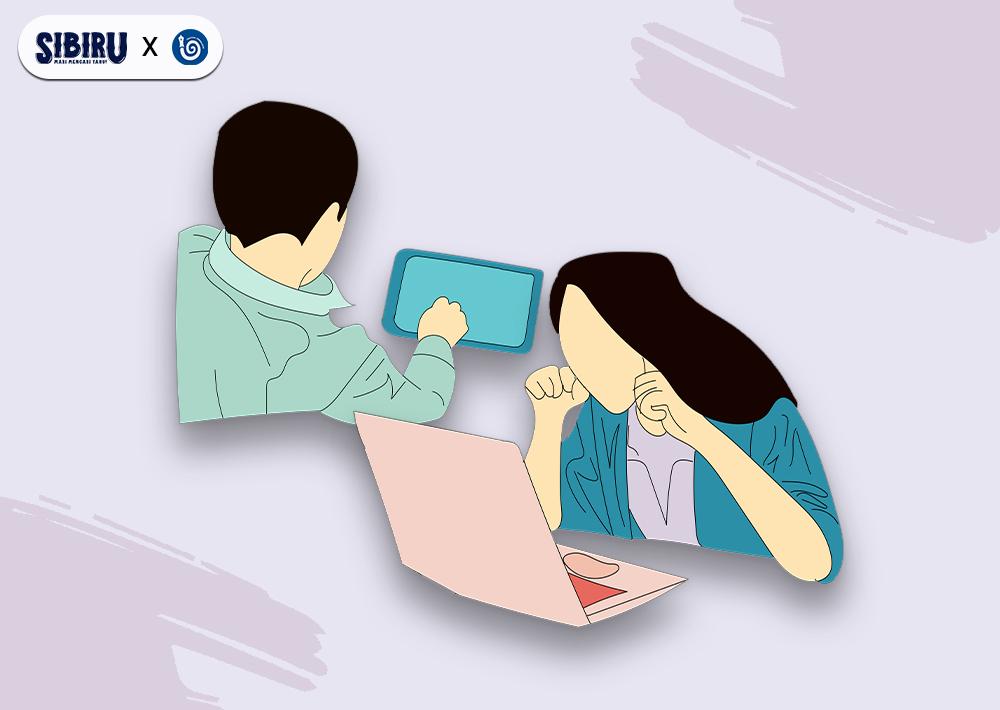 Digitalisasi Sekolah, Siswa Tertekan?