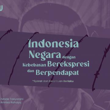 Indonesia Negara dengan Kebebasan Berpendapat dan Berekspresi
